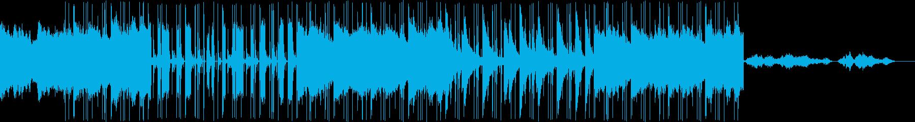 宇宙的なおしゃれポップの再生済みの波形
