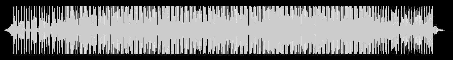ファッショナブルの未再生の波形
