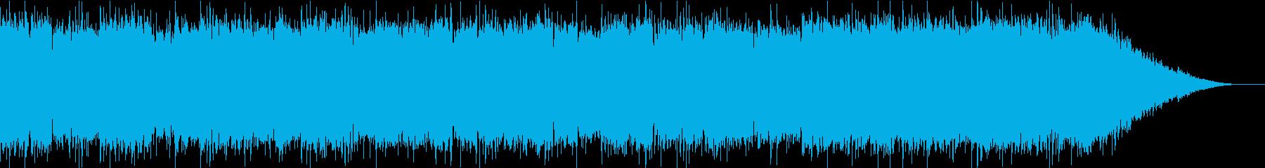 ほのぼのとした日常をイメージの再生済みの波形