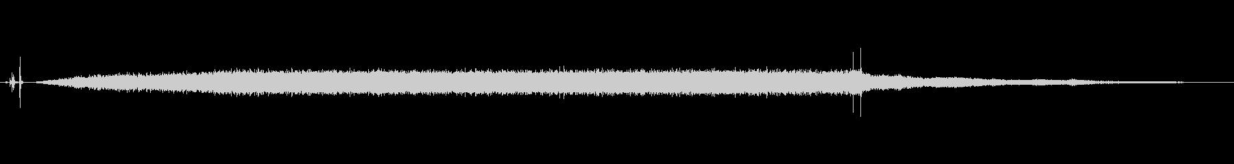 家庭 バキュームロー01の未再生の波形