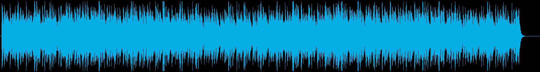 クライマックス的なオケ曲の再生済みの波形