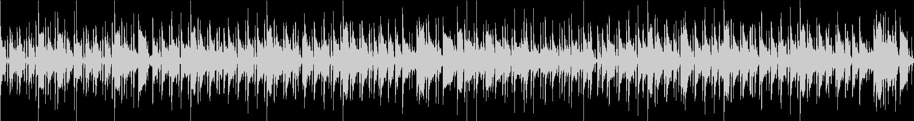 [ループ仕様]ほのぼのおしゃれなボサノバの未再生の波形