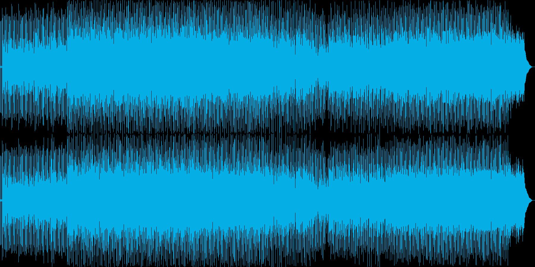 静かなリズムで天の声をメロディーに...の再生済みの波形