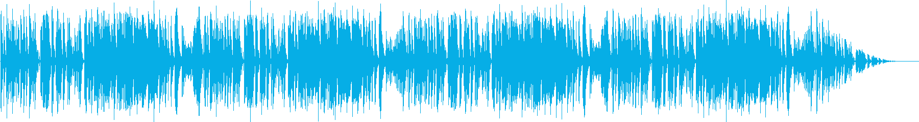 bgm43の再生済みの波形
