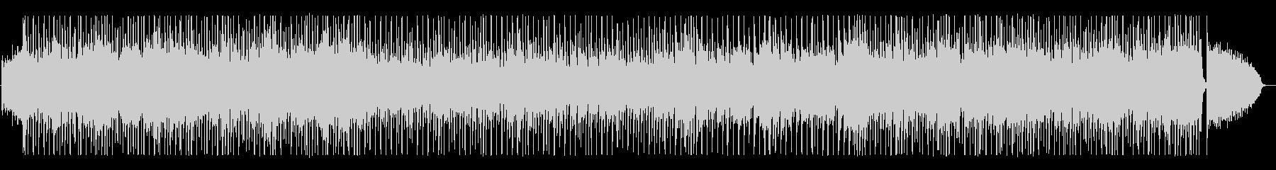シンセサイザー中心のサンバの未再生の波形