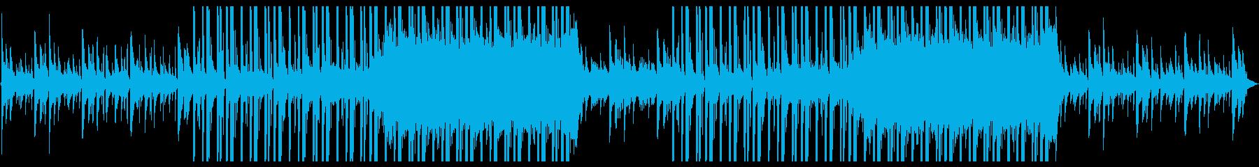 アコースティックな洋楽系R&Bの再生済みの波形