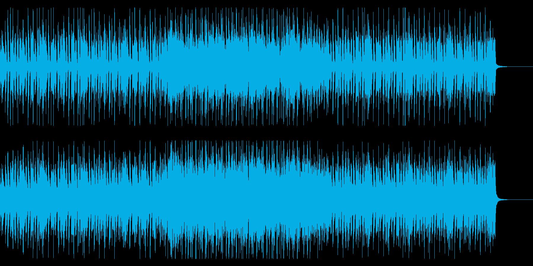 オープニング向き底抜けに明るいロカビリーの再生済みの波形