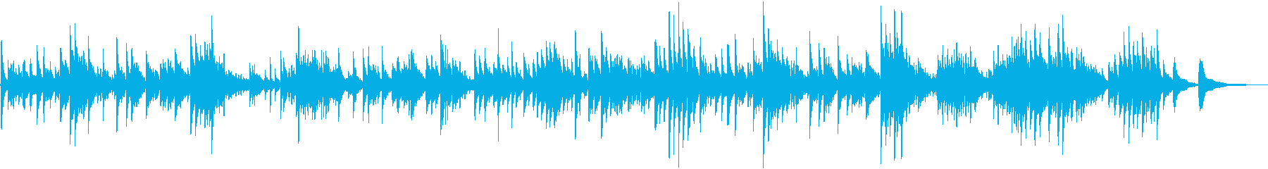 Guitar duo of classical masterpiece Nocturne's reproduced waveform