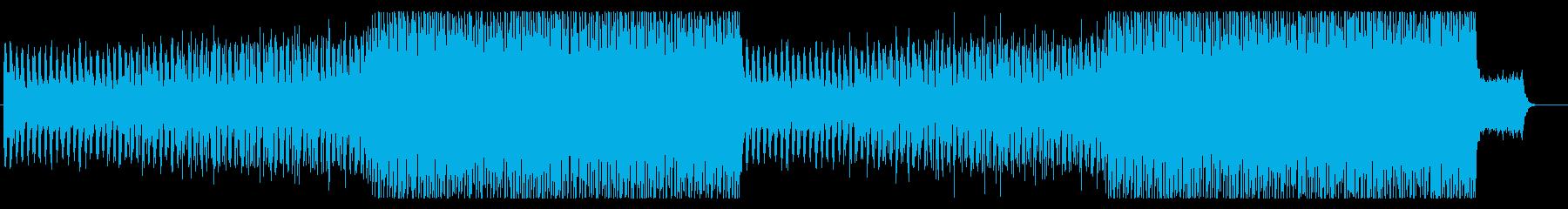 テクノロジー・ゲーム・シンセ エレクトロの再生済みの波形