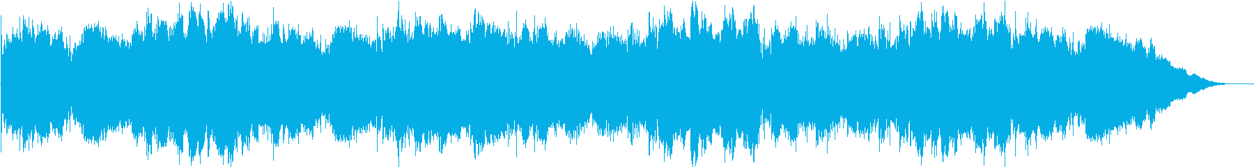セーブ画面やセーフゾーンにおけるBGMの再生済みの波形