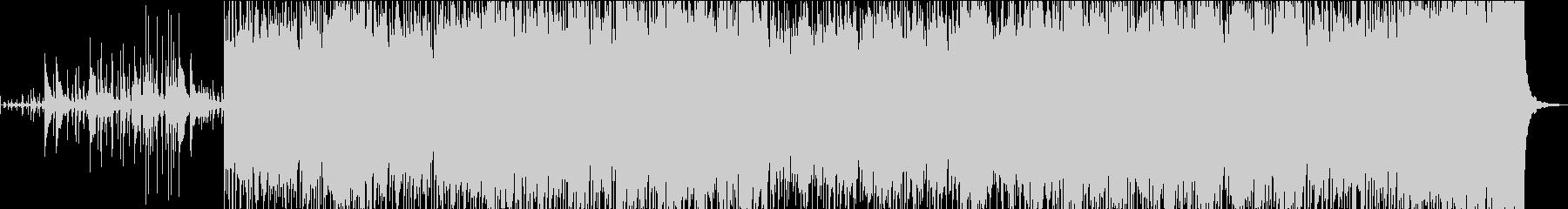 本物のドラムと電子ループを融合した...の未再生の波形