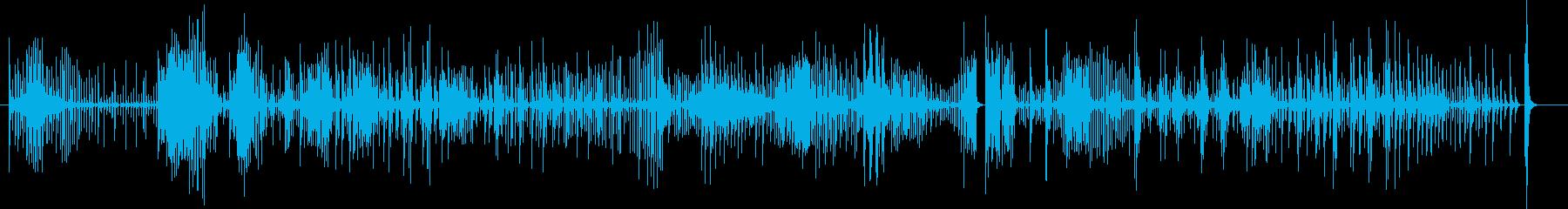 コンガ3のフリーソロ、ラテン、percの再生済みの波形