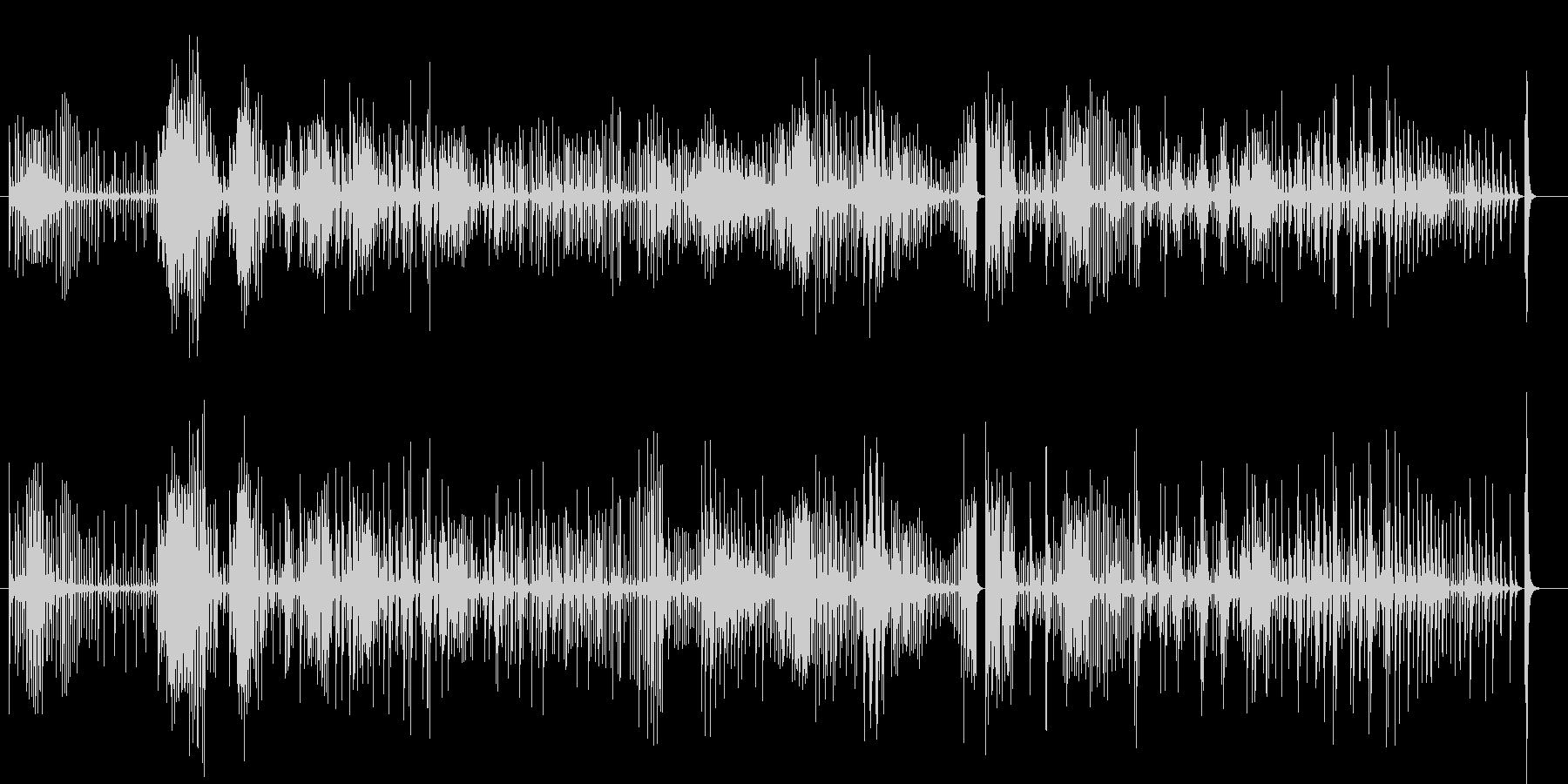 コンガ3のフリーソロ、ラテン、percの未再生の波形