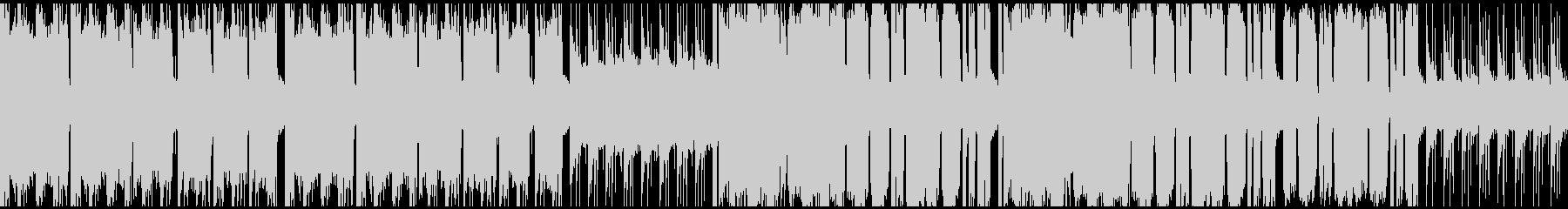 牧歌的なケルト風の楽曲(ループ対応)の未再生の波形