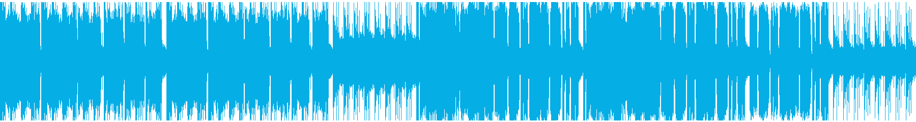 牧歌的なケルト風の楽曲(ループ対応)の再生済みの波形