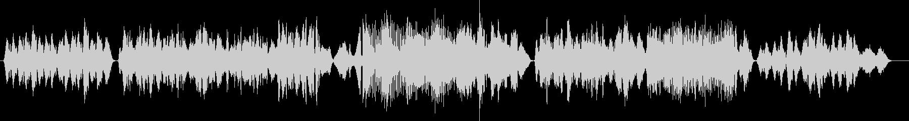 オリエンタルな風情の弦楽四重奏の未再生の波形