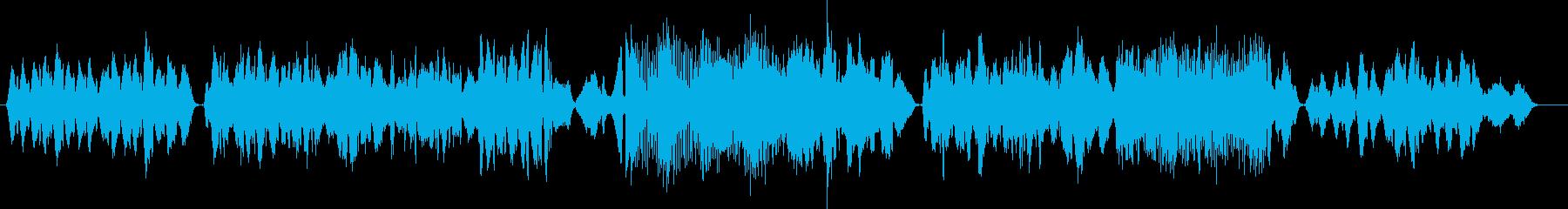 オリエンタルな風情の弦楽四重奏の再生済みの波形