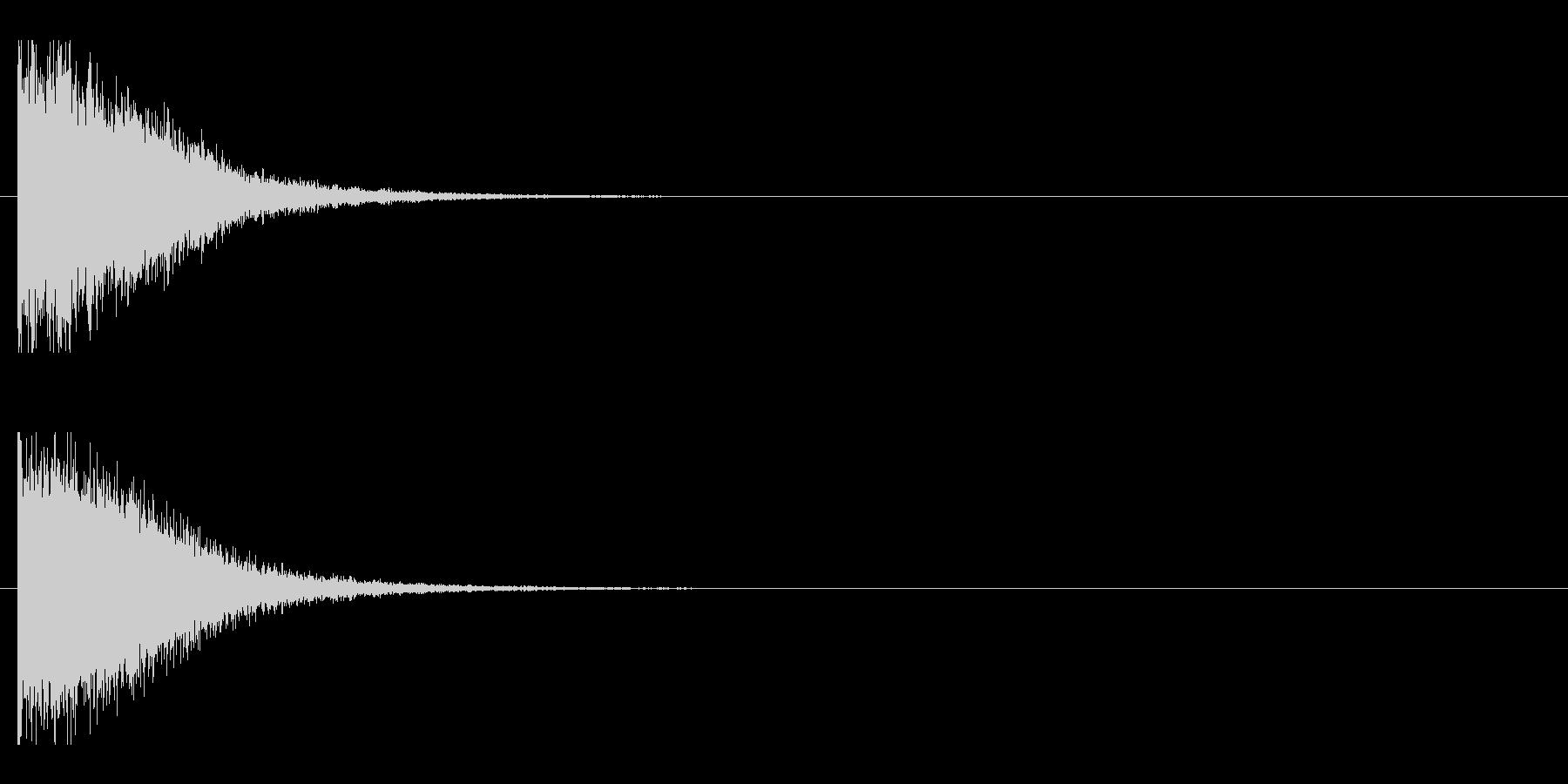 レーザー音-147-1の未再生の波形