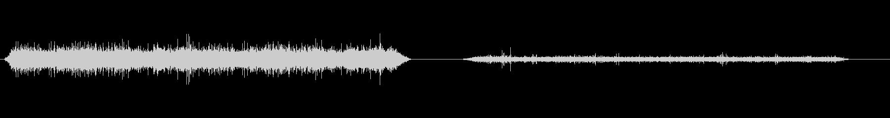 水族館-バブルボム-2バージョンの未再生の波形