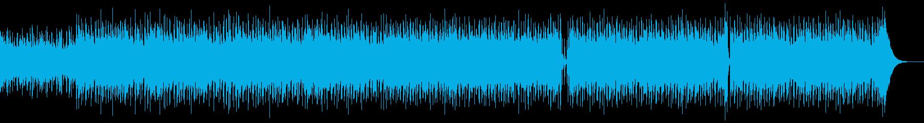 ウクレレ、夏、CMの再生済みの波形