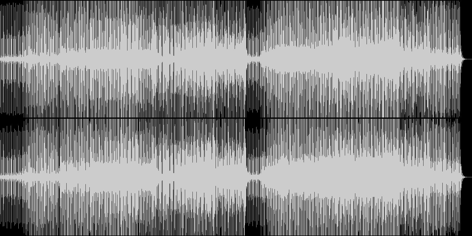 ふわふわした雰囲気のエレクトロニカの未再生の波形