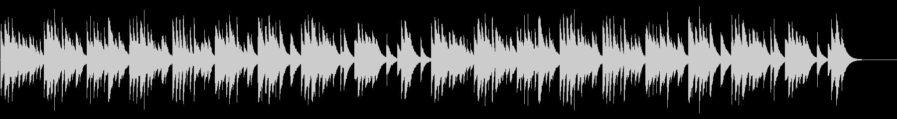 モーツァルトの子守唄 カード式オルゴールの未再生の波形