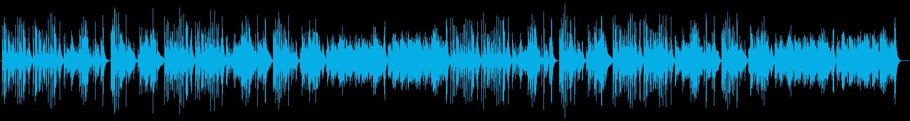 キレよく魅惑的な和風ミュージックの再生済みの波形