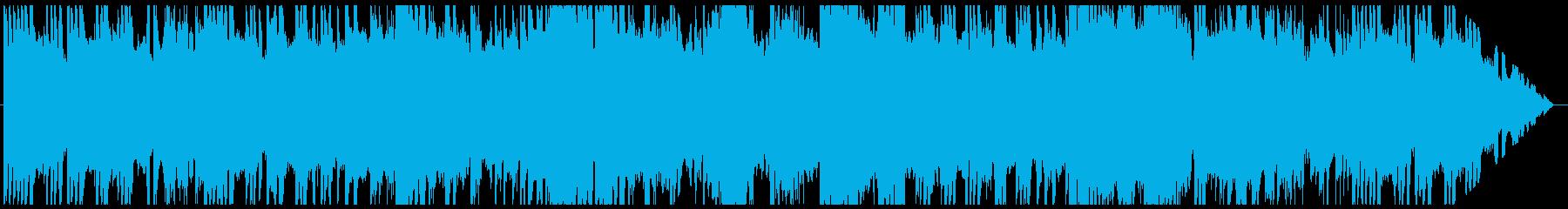 民族調のフィールド曲その2の再生済みの波形