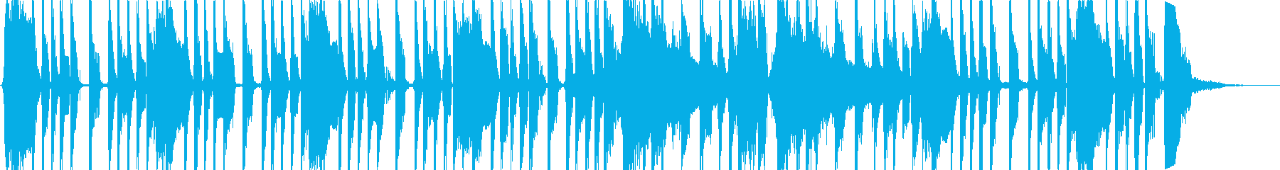 ファンキーなジャズロックの再生済みの波形