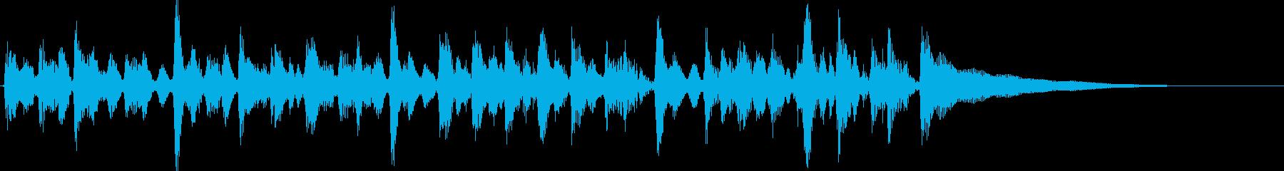 15秒CM、アコギリズム、商品紹介等⑤の再生済みの波形
