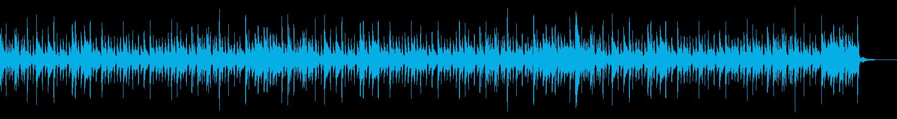 ラテントライバルパーカッショングローブの再生済みの波形