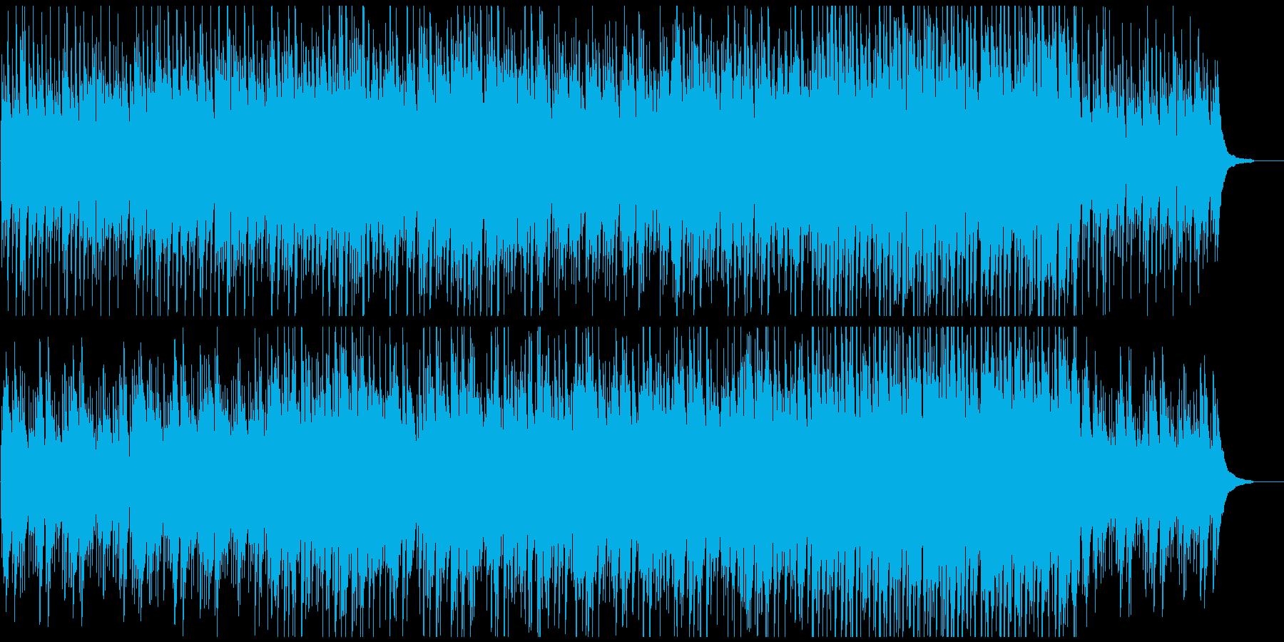 サイエンス系CMや映像に温かみあるピアノの再生済みの波形