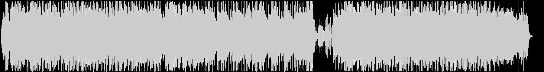 ミニマルなマリンバと、Lo-Fiなビートの未再生の波形