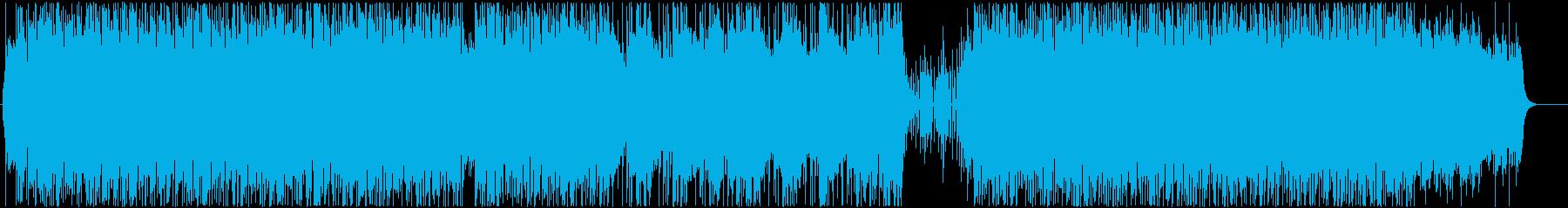 ミニマルなマリンバと、Lo-Fiなビートの再生済みの波形