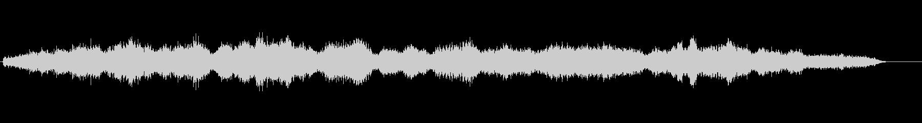 カッチーニのアベマリアの冒頭部分を即興…の未再生の波形