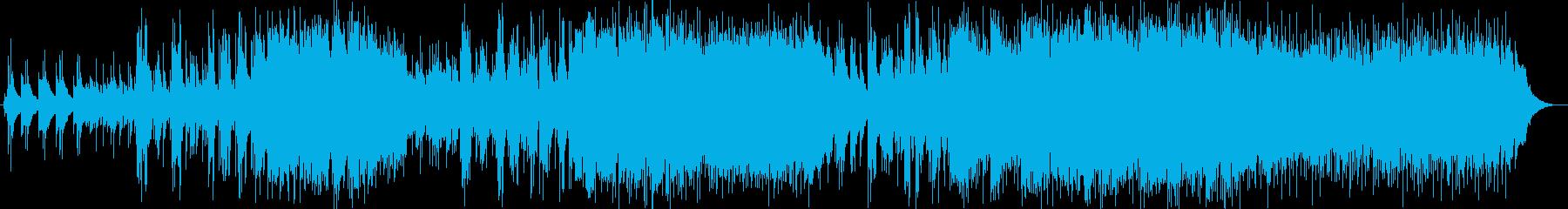 ポップなフォークアメリカーナの曲に...の再生済みの波形