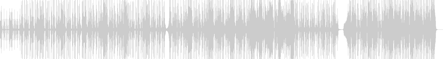 脱力系でファンキーなヒップホップ Dの未再生の波形