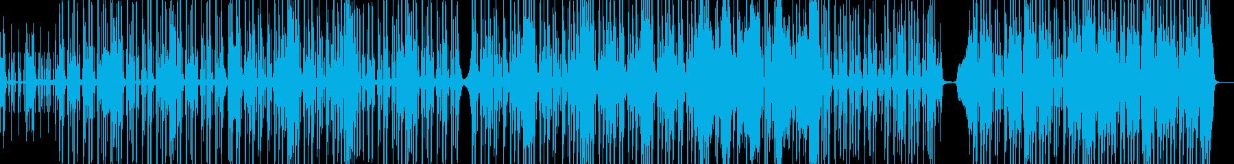 脱力系でファンキーなヒップホップ Dの再生済みの波形