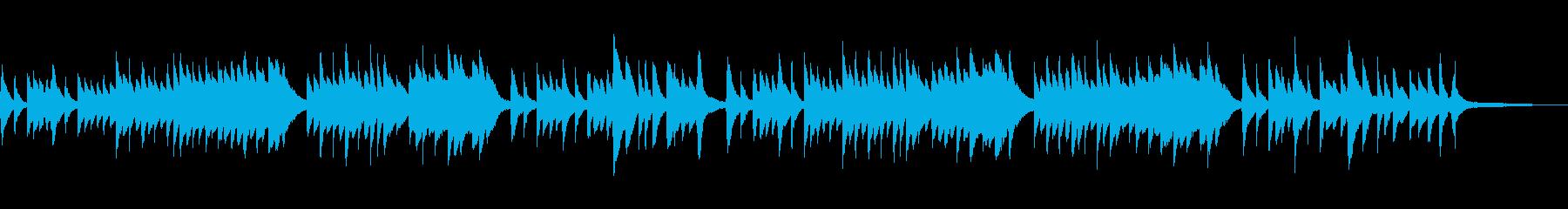 古歌「さくらさくら」シンプルなピアノソロの再生済みの波形