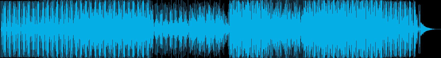 ハウスです。24bit,48kHz環境…の再生済みの波形