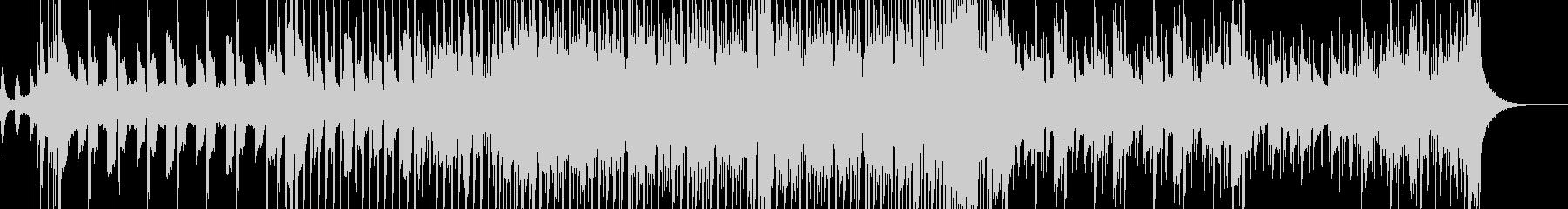 暗めなシンスウェーブの未再生の波形