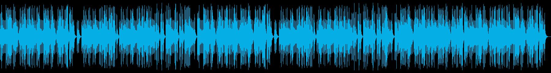 恋愛の癒しオルゴールBGMの再生済みの波形