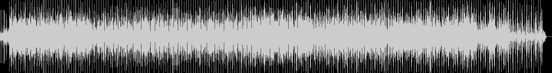 軽快なリズムのシンセポップの未再生の波形