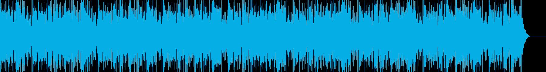 実用的なカリンバの無機質BGM3の再生済みの波形