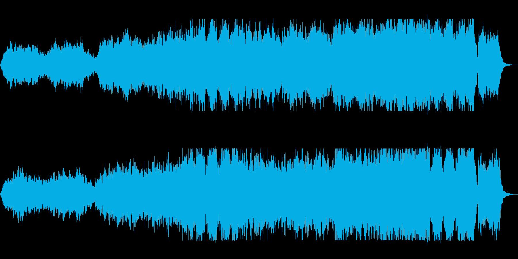これからの展開に期待させるBGMの再生済みの波形