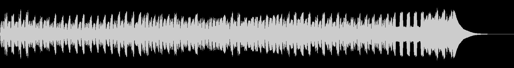 宅急便のCM/リコーダーの未再生の波形