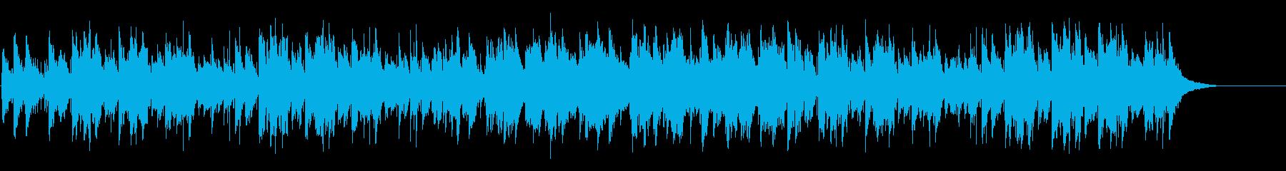 アダルトでゆるやかなマイナーフュージョンの再生済みの波形