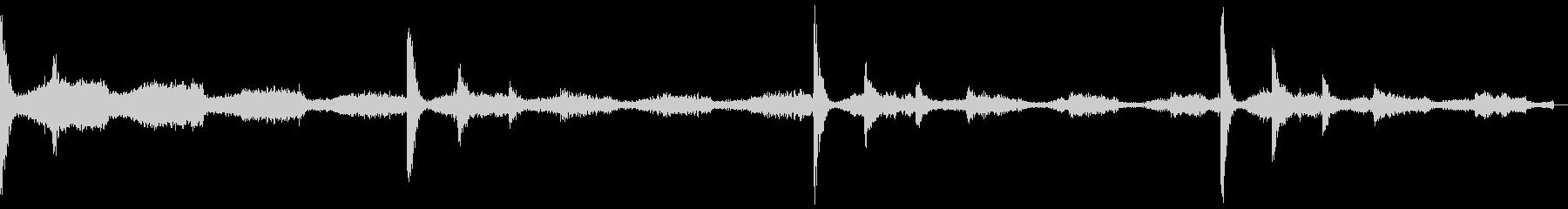 【フューチャーベース】ロング2ショート1の未再生の波形