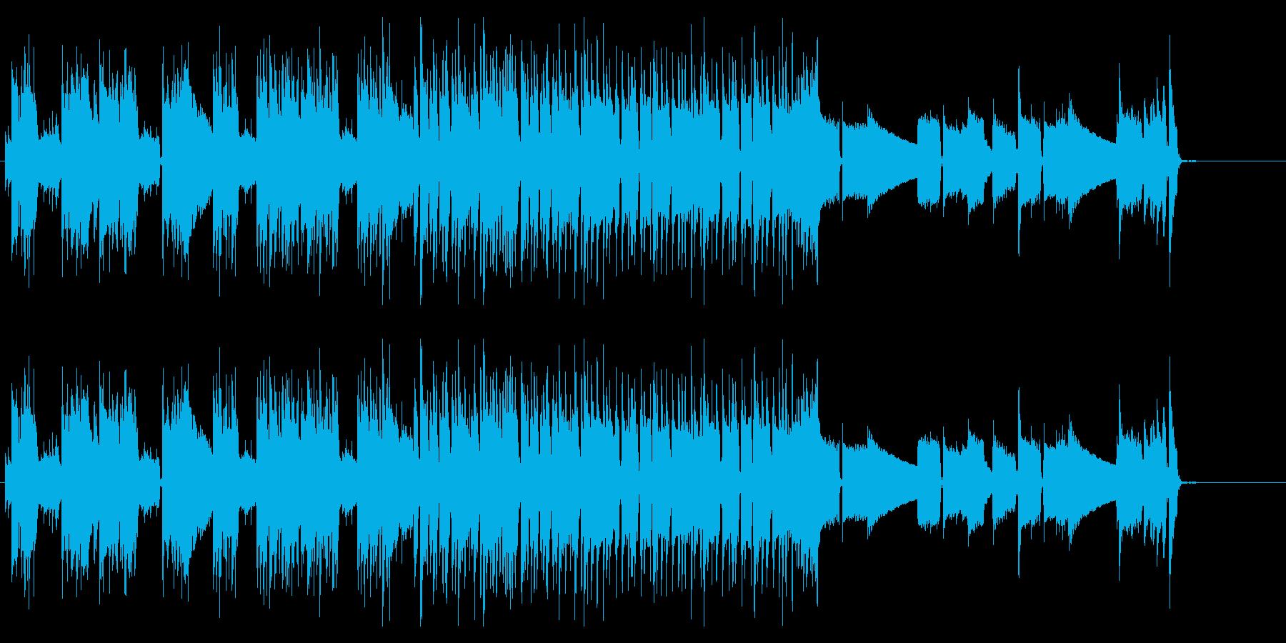 不思議な雰囲気のポストロックの再生済みの波形