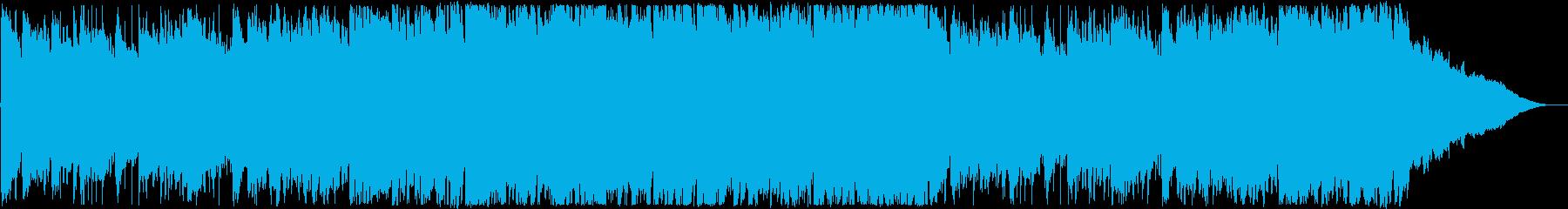 オープニング・優しいポップスの再生済みの波形